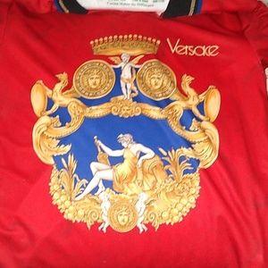 Versace v-neck collar